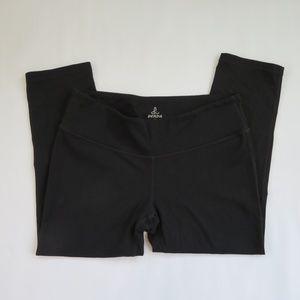 Prana capri black leggings